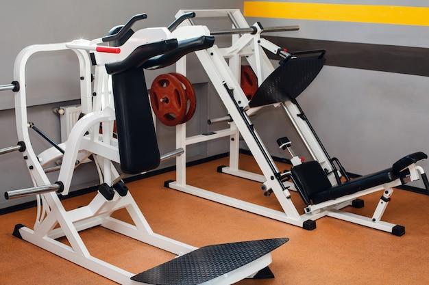 Máquinas esportivas modernas