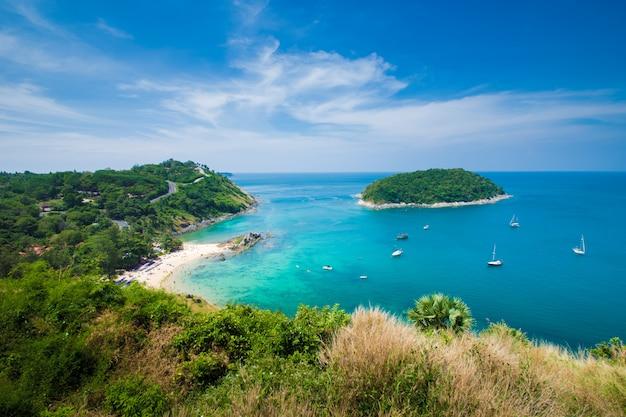 Mar azul de phuket