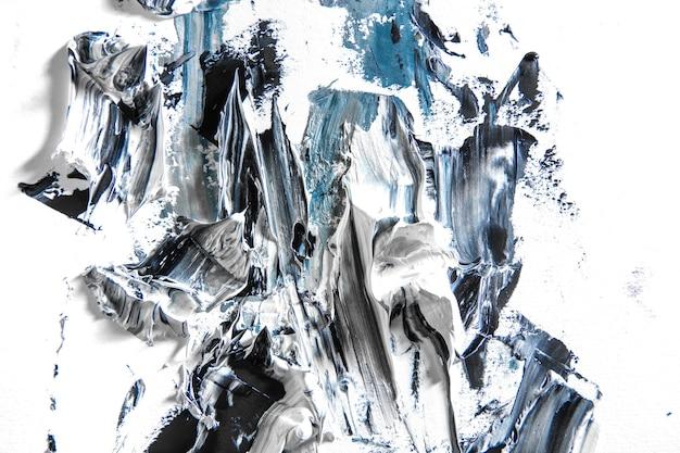 Mar. creme pintura texturizada em fundo transparente, arte abstrata. papel de parede para dispositivo, copyspace para publicidade. o produto artístico do artista, bicolor. inspiração, ocupação criativa.