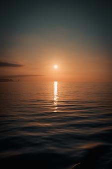 Mar minimalista e refrigerado