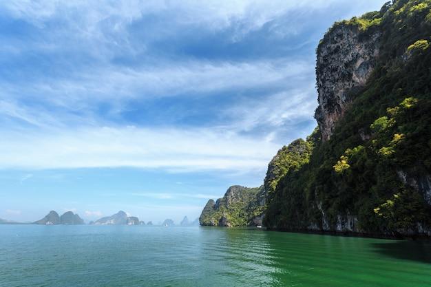 Mar tropical. período de férias.
