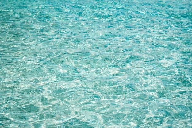 Maravilhosas ondas do mar na natureza de chipre