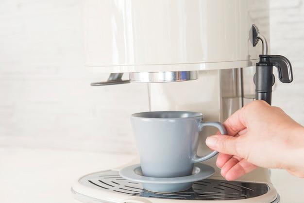 Marcador de café profissional em casa