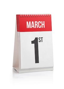 Março mês dias calendário primeiro dia