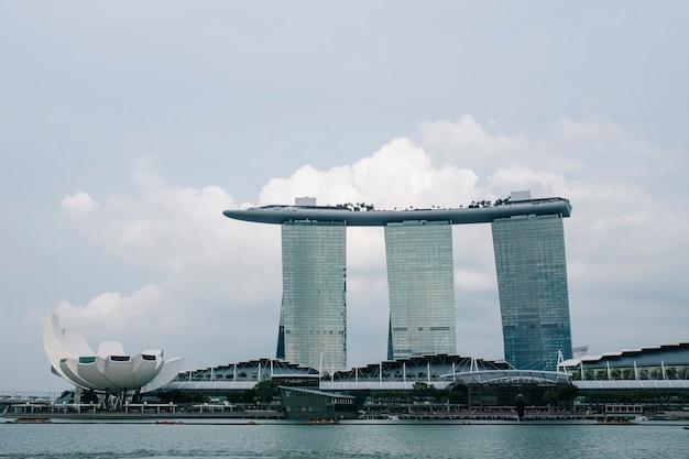Marina bay em cingapura