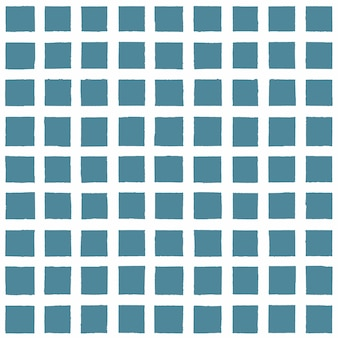 Marinha azul do grunge e fundo xadrez branco. fundo vintage com padrão infinito de xadrez desenhado de mão de tinta. textura de faixa sem costura moderna. para tecido, matéria têxtil, design de moda, embalagem, papel de parede.