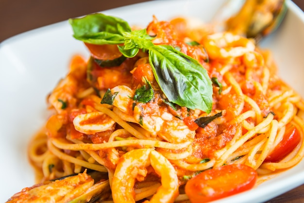 Marisco esparguete