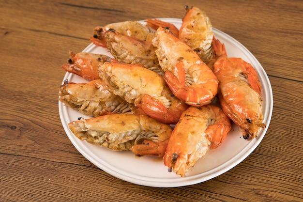 Marisco grelhado camarão