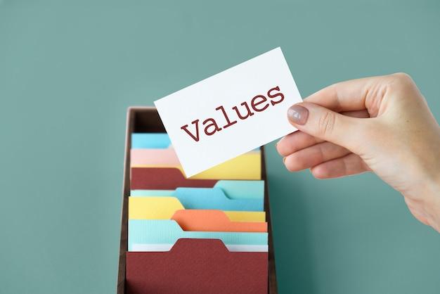 Marketing branding criatividade valores empresariais