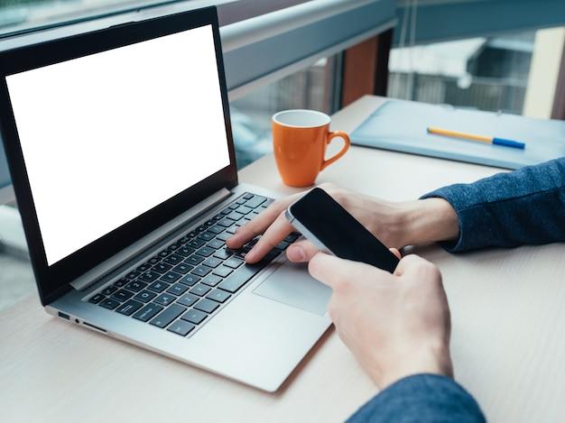 Marketing de publicidade de tecnologia de comércio eletrônico
