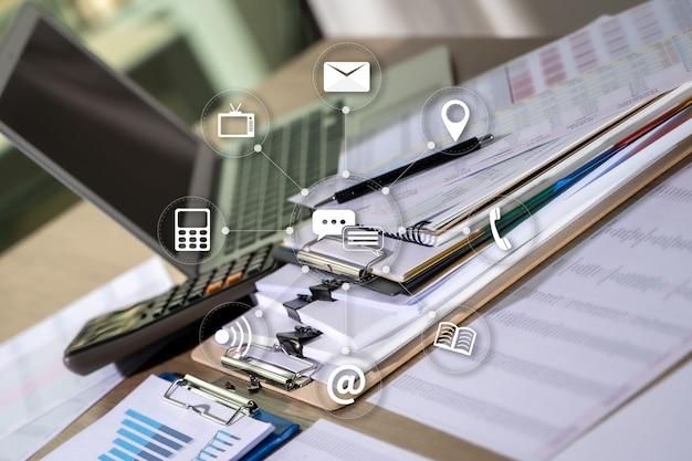 Marketing digital novo projeto de startup milhares