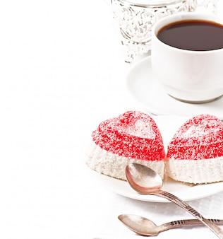 Marmelada em forma de coração