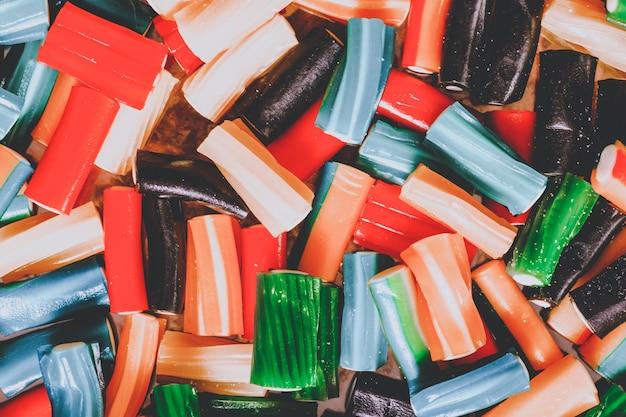 Marmelada estampada colorida. fundo culinário colorido para designer