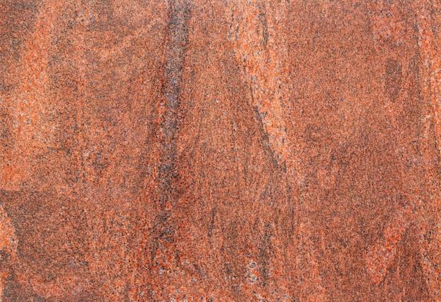 Mármore de pedra marrom, em close-up, plano de fundo texturizado
