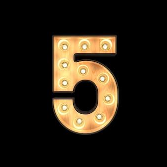 Marquee light número 5