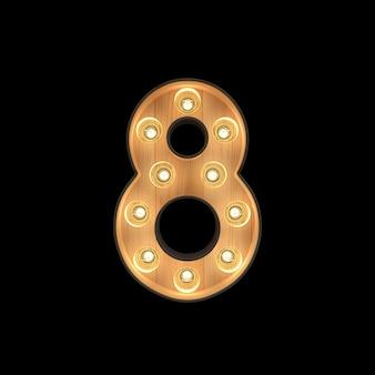 Marquee light número 8