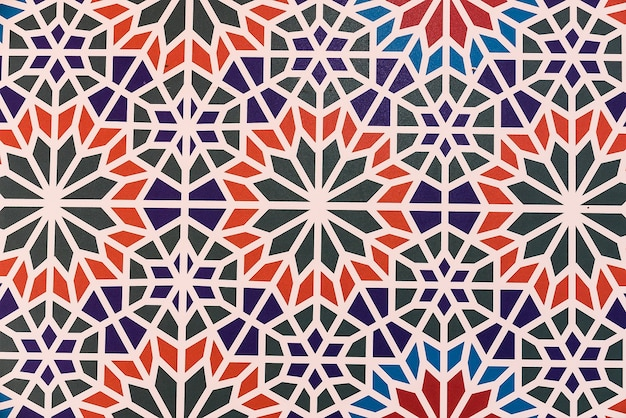 Marrocos azulejos de fundo