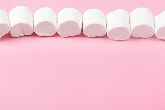 Marshmallow branco macio