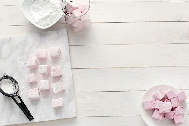 Marshmallows doces
