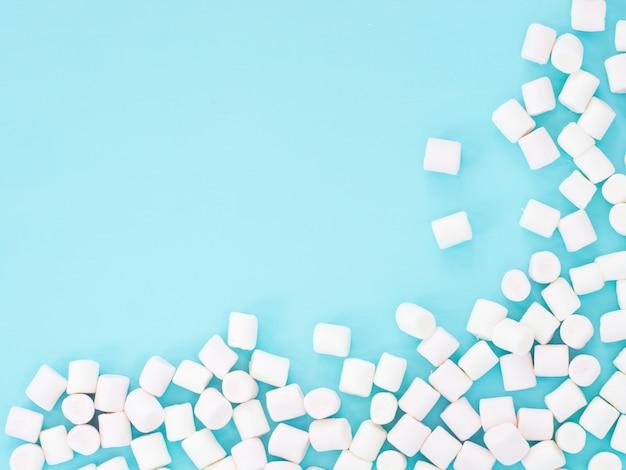Marshmallows em azul