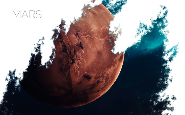 Marte no espaço