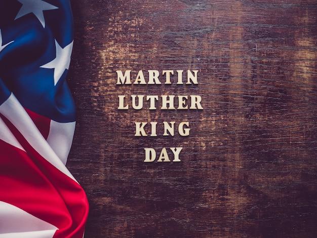 Martin luther king jr. cartão bonito e brilhante