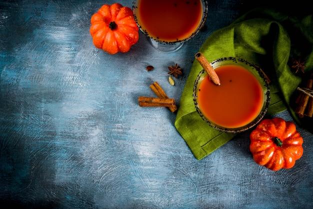 Martini de abóbora picante de outono