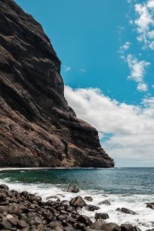 Masca praia no final da ravina masca