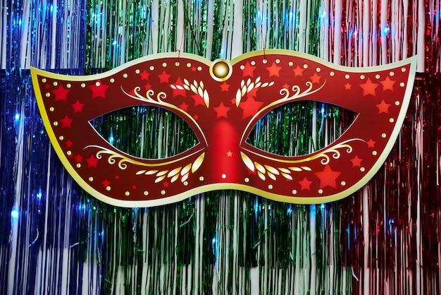 Máscara de carnaval linda