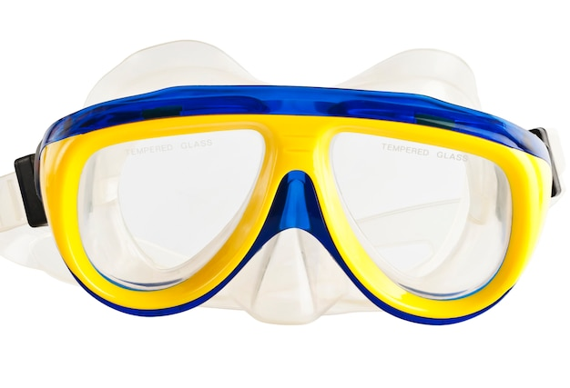 Máscara para mergulhar debaixo d'água