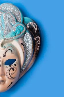 Máscara veneziana de carnaval bonito