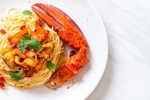 Massa all'astice ou espaguete de lagosta