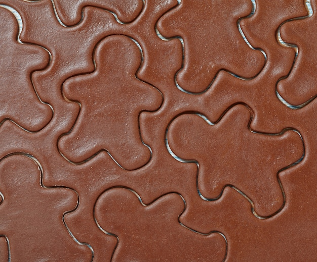 Massa aromática para biscoitos de biscoito de natal