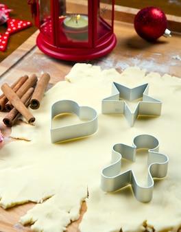 Massa de biscoitos caseiros para o natal