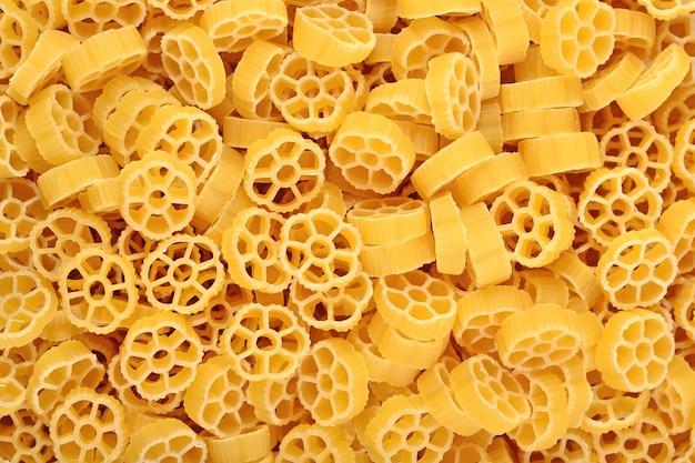 Massa italiana crua como textura de fundo