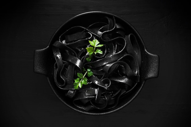 Massa preta deliciosa plana leigos