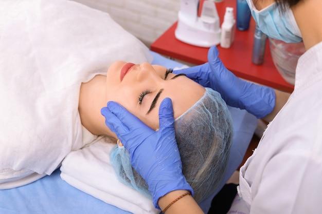 Massagem cosmética, tratamento facial.