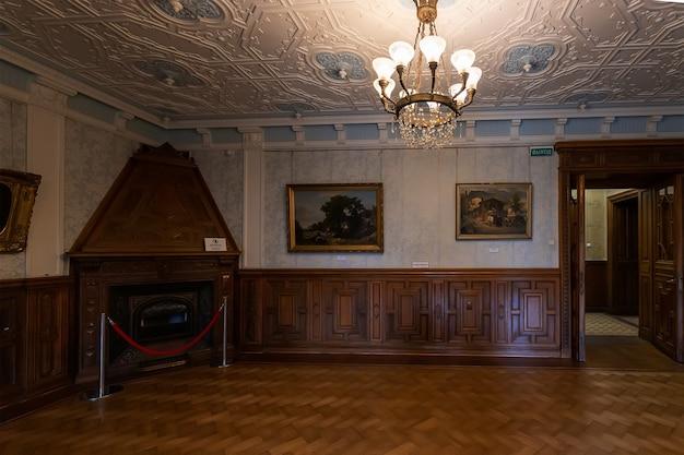 Massandra crimeia interior do palácio imperial de massandra