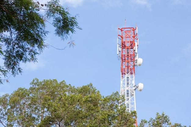Mastro de telecomunicações