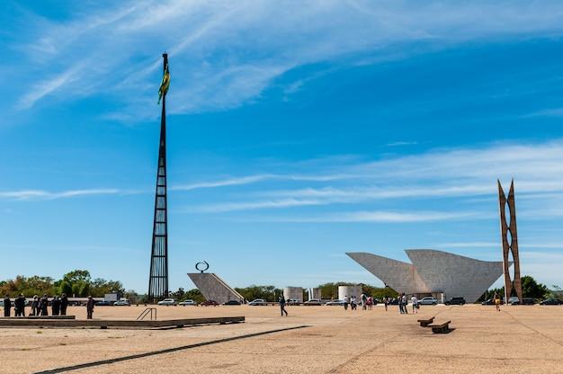 Mastro nacional de brasília e panteão da pátria brasília df brasil em 14 de agosto de 2008