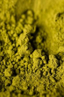 Matcha asiático do chá verde do close-up