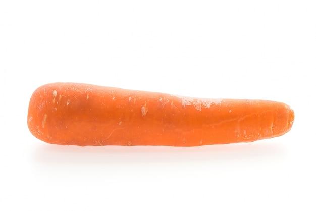 Matéria-prima recorte cenoura bonita