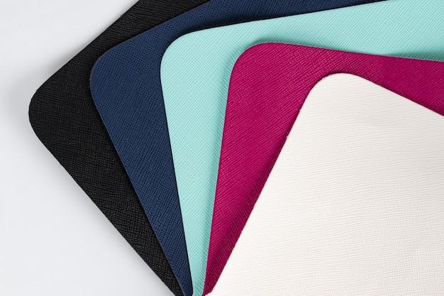Material de couro colorway