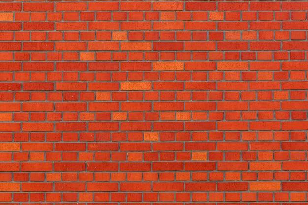 Material de fundo da parede de tijolo vermelho