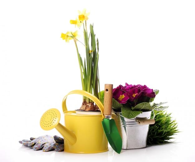 Material de jardinagem diferente