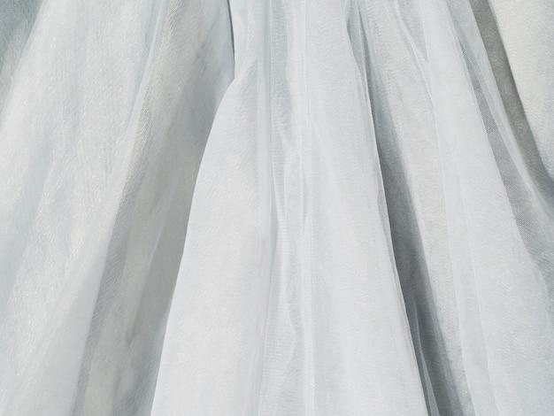 Material de lençol de tecido de close-up