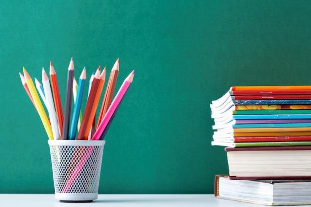 Material escolar para os alunos
