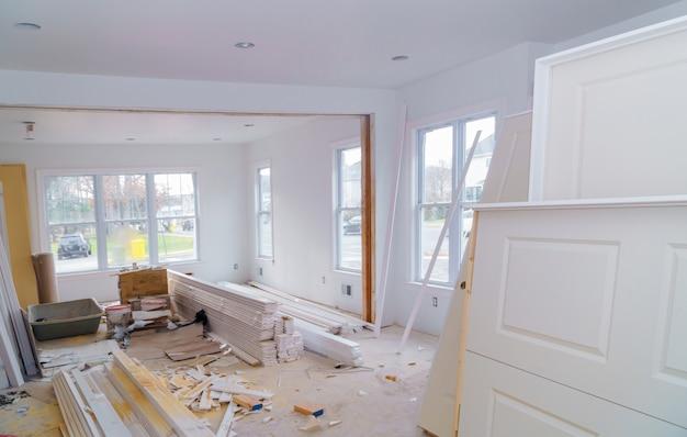 Material para construção, remodelação e renovação