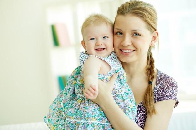 Matriz com seu bebê