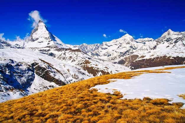 Matterhorn zermatt suíça